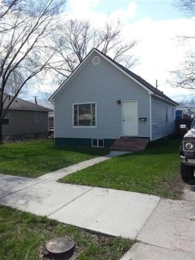 Pocatello Single Family Home For Sale: 1029 S 3rd
