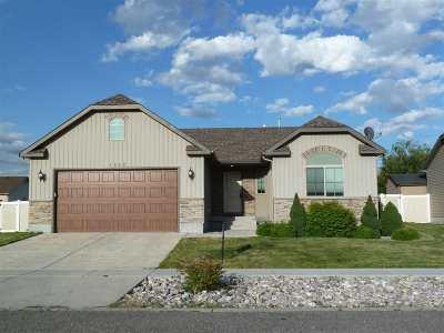 Chubbuck Single Family Home For Sale: 4842 Brookstone