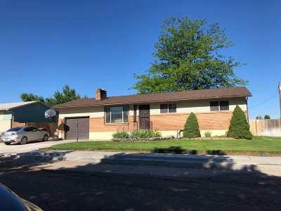 Chubbuck Single Family Home For Sale: 4599 Ponderosa
