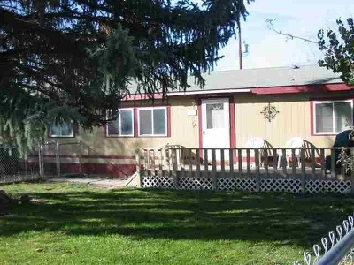 American Falls ID Single Family Home For Sale: $105,000