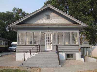 Pocatello Multi Family Home For Sale: 128 N 10th