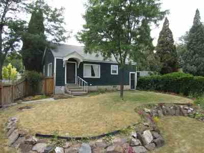 Pocatello Single Family Home For Sale: 710 W Bonneville