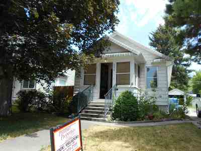 Pocatello Single Family Home For Sale: 234 N 13th