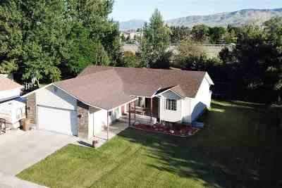 Chubbuck Single Family Home For Sale: 575 Alpine