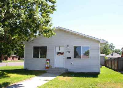Pocatello ID Single Family Home For Sale: $134,900