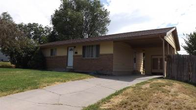 Pocatello ID Single Family Home For Sale: $114,900