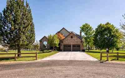 Pocatello Single Family Home For Sale: 12535 N Laramie Ln