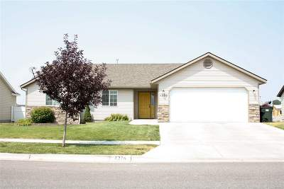 Pocatello Single Family Home For Sale: 1276 Heber