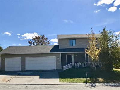 Pocatello Single Family Home For Sale: 2161 Butte