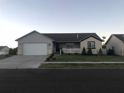 Chubbuck Single Family Home For Sale: 4596 Sarah Loop