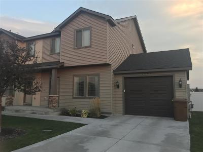 Chubbuck Single Family Home For Sale: 1541 Stone Hedge