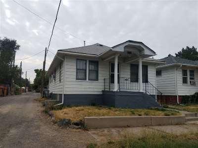 Pocatello Single Family Home For Sale: 1123 E Bonneville