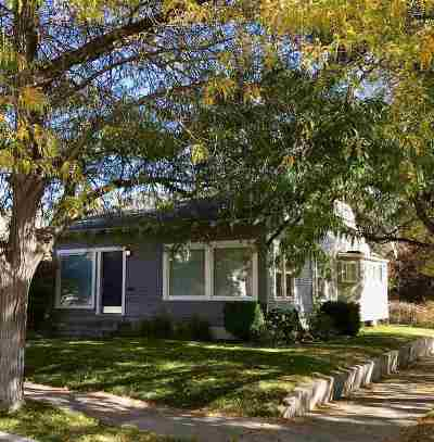 Pocatello ID Single Family Home For Sale: $137,500
