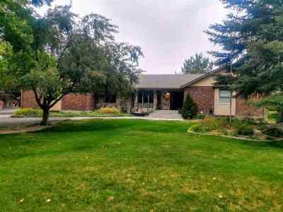 Pocatello Single Family Home For Sale: 12256 N Hiline Road