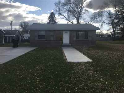 American Falls ID Single Family Home For Sale: $114,000