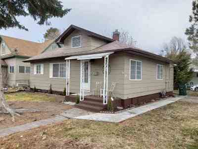 Pocatello Single Family Home For Sale: 904 W Custer