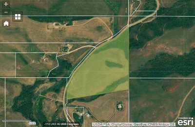 Inkom Residential Lots & Land For Sale: 27.49 Acres N Rapid Creek