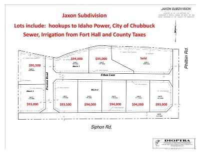 Chubbuck Residential Lots & Land For Sale: Lot 5 Block 2 Ethan Lane