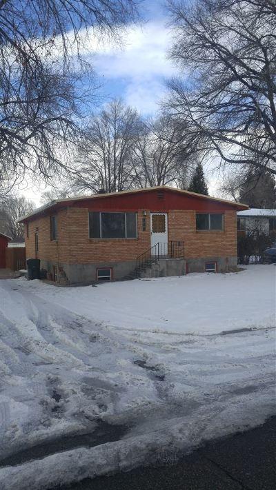 Pocatello Single Family Home For Sale: 413 Taft