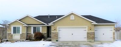 Chubbuck Single Family Home For Sale: 1400 Sawtooth