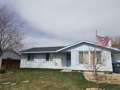 Pocatello Single Family Home For Sale: 1578 Onyx