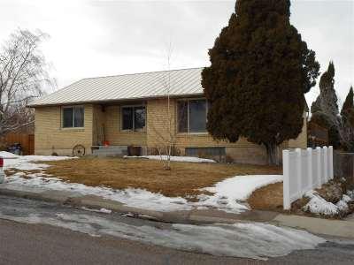 Pocatello Single Family Home For Sale: 35 Mountain Drive