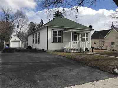 American Falls ID Single Family Home For Sale: $130,000