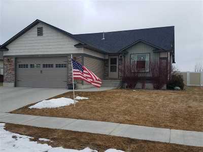 Chubbuck Single Family Home For Sale: 1442 Kiersten