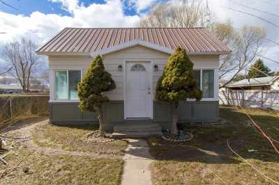 American Falls ID Single Family Home For Sale: $124,900
