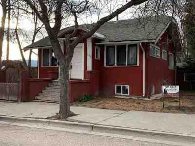Pocatello Single Family Home For Sale: 636 E Carter