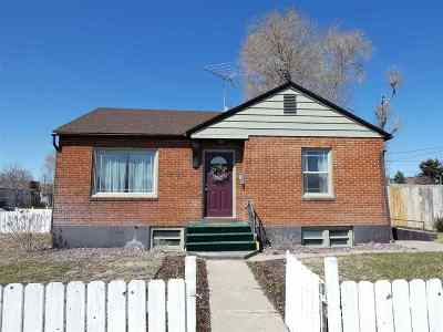 Pocatello ID Single Family Home For Sale: $109,900