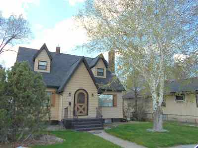 Pocatello Single Family Home For Sale: 1325 N Hayes