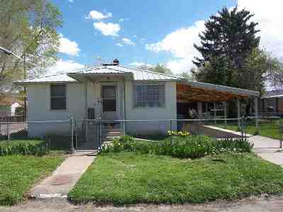 Pocatello Single Family Home For Sale: 1425 E Hayden