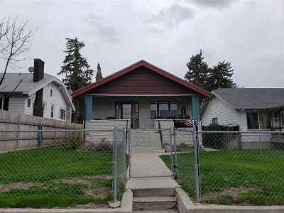 Pocatello Single Family Home For Sale: 539 N Johnson