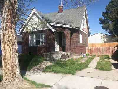 Pocatello Single Family Home For Sale: 636 E Whitman