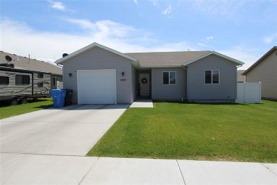 Pocatello Single Family Home For Sale: 1837 Tempe