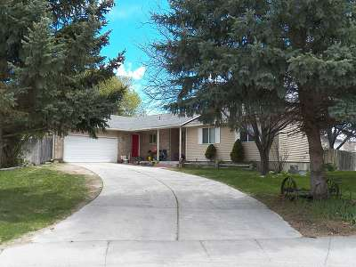 Pocatello Single Family Home For Sale: 1717 Churchill Downs