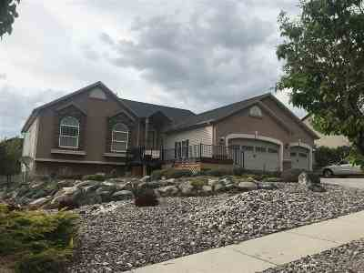 Pocatello Single Family Home For Sale: 1615 Satterfield
