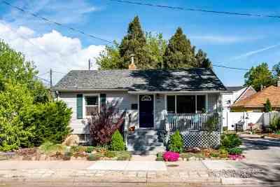 Pocatello Single Family Home For Sale: 1142 E Halliday