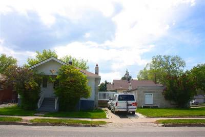 Pocatello Single Family Home For Sale: 347 N 10th