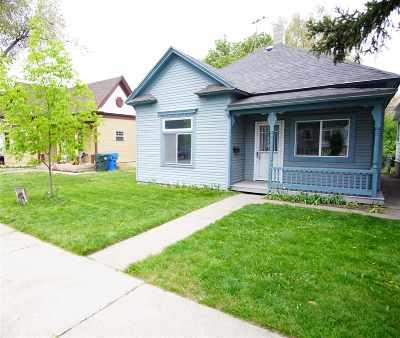 Pocatello Single Family Home For Sale: 720 N Arthur
