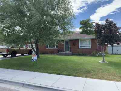 Pocatello Single Family Home For Sale: 621 Cheyenne Ave