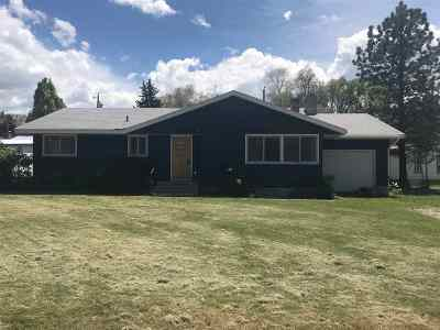 American Falls ID Single Family Home For Sale: $142,500