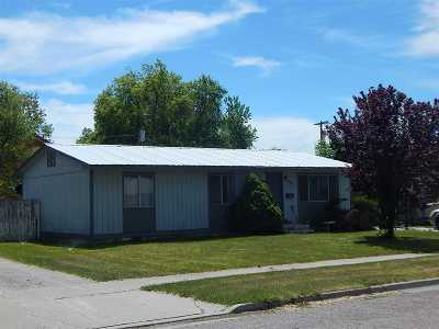 American Falls ID Single Family Home For Sale: $98,500