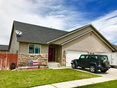 Pocatello Single Family Home For Sale: 1280 Riley Ave.