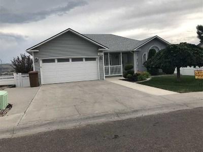 Chubbuck Single Family Home For Sale: 4611 Mountain Park