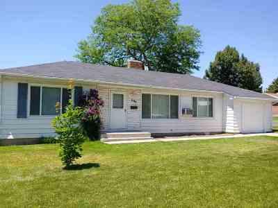 Pocatello Single Family Home For Sale: 295 Sorenson
