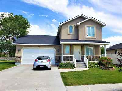 Chubbuck Single Family Home For Sale: 4570 Sarah Loop