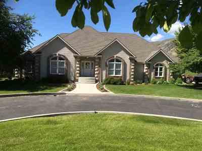 Pocatello Single Family Home For Sale: 7474 W Portneuf