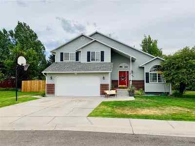 Chubbuck Single Family Home For Sale: 5006 Liberty